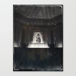 Constance Haunted Mansion by Topher Adam 2017 Canvas Print