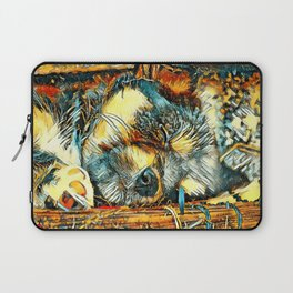 AnimalArt_Dog_20170906_by_JAMColorsSpecial Laptop Sleeve