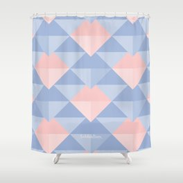 DIAMONDS2 Shower Curtain