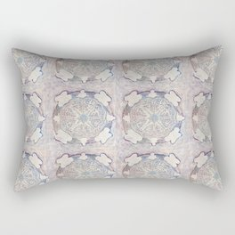 Mandala for Winter Rectangular Pillow