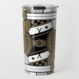 Omnia Suprema Queen of Clubs Travel Mug