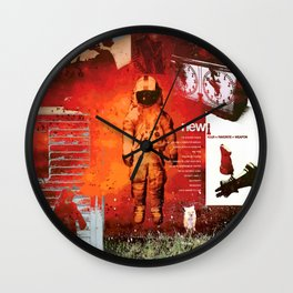 Brand New- Album Art Collage Wall Clock