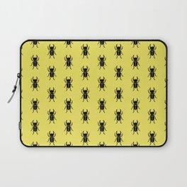 Stag beetle Lucanus cervus pattern Laptop Sleeve