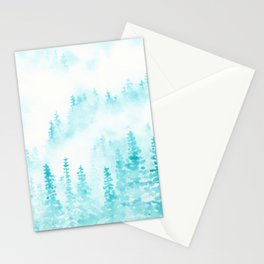 A Turquoise Forest Stationery Cards