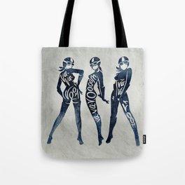 """Va-Va-Voom """"Elsa"""" Motorcycle Pin Up Girl Tote Bag"""