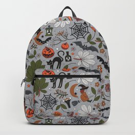 Embroidered halloween Backpack