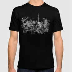 Toronto! (Dark T-shirt Version) Black LARGE Mens Fitted Tee