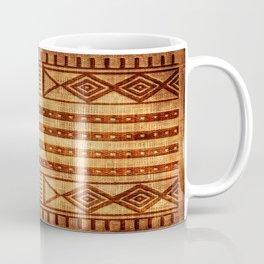Embossed African Pattern Coffee Mug