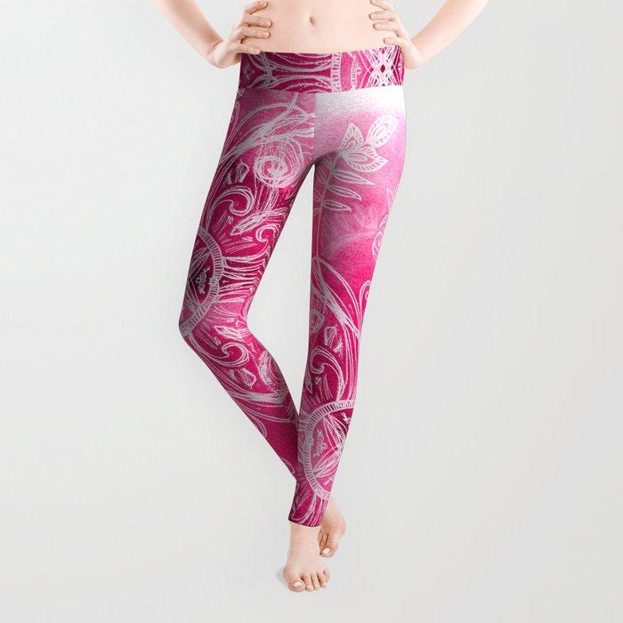 Pink + Patterns Leggings