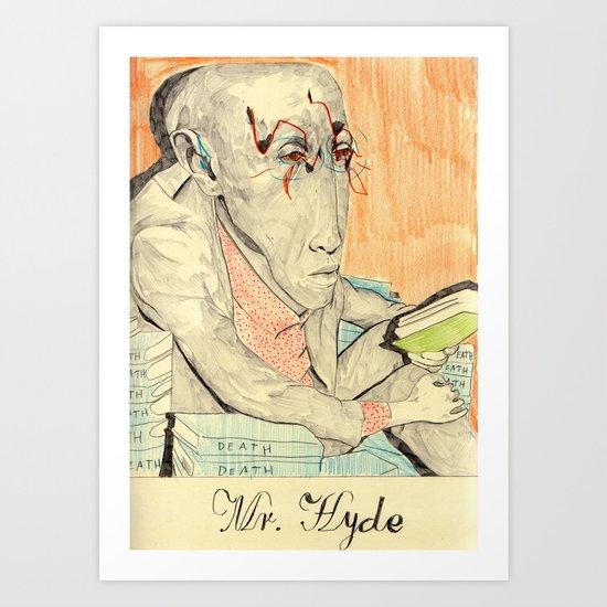 Hyde Art Print