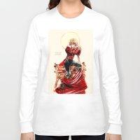 enjolras Long Sleeve T-shirts featuring les miseràbles: apollo by Daniela Viçoso
