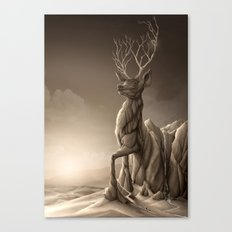 Revenge of the Nature: Guardian of the Earth Canvas Print