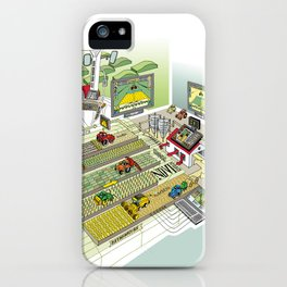 Agrarian iPhone Case