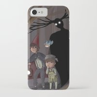over the garden wall iPhone & iPod Cases featuring Over The Garden Wall by Dimension Bound