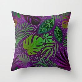 Purple Delight Throw Pillow