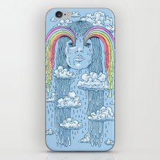 Rainface iPhone Skin