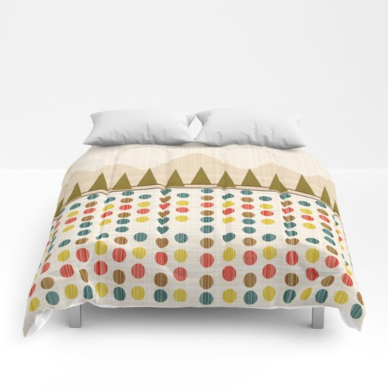 The Forest in Spring Comforters