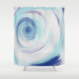 Entering a Winter Wonderland Shower Curtain