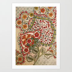 paisley Art Print