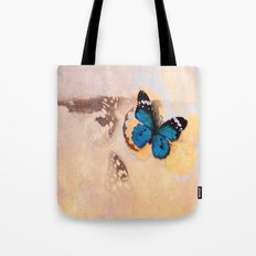 A beautiful stain... Tote Bag
