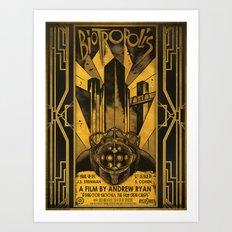 Biotropolis Art Print