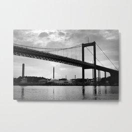 River Castle Bridge Metal Print