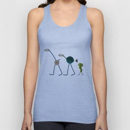 Kitchen Tools Parade Unisex Tank Top