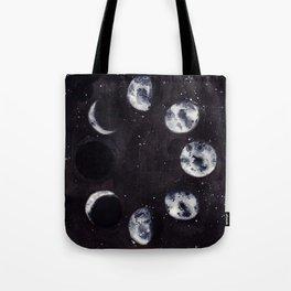 Lunar Cycle Tote Bag