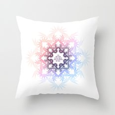 Heaven or hell Throw Pillow