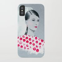 sandra dieckmann iPhone & iPod Cases featuring Sandra by youdesignme