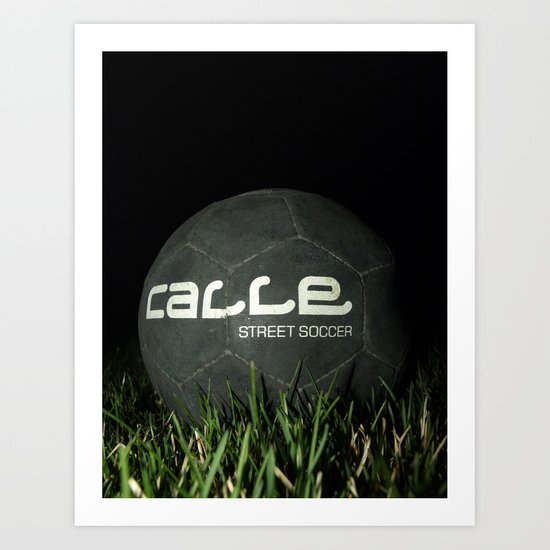 Calle-Swag District. Art Print