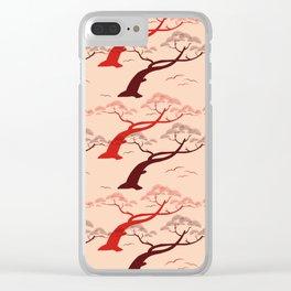 Bonsai Ornamental Trees Clear iPhone Case