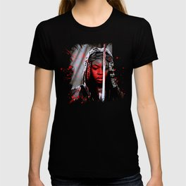 Michonne The Walking Dead Start to Finish T-shirt