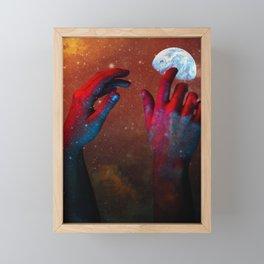 HANDS OF GOD Framed Mini Art Print