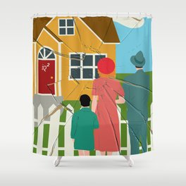 Income Inequality Impairs The American Dream Of Upward Mobility Shower Curtain