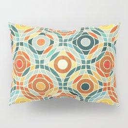 Bauhaus Geometric Pillow Sham