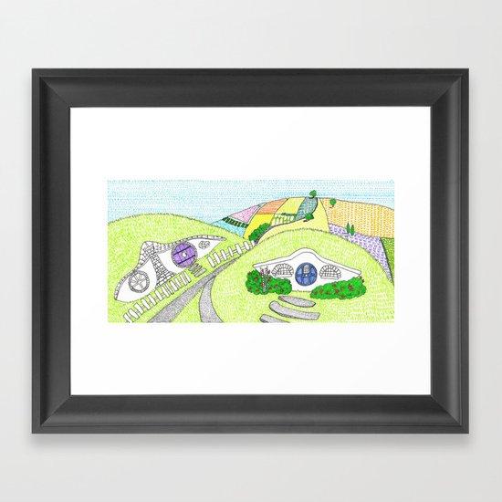 Hobbiton  Framed Art Print