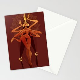 Goddess of Chaos  Stationery Cards