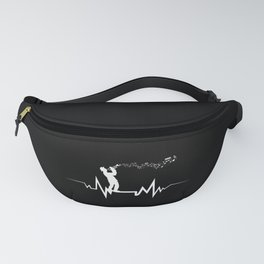 Trumpeter Heartbeat design Cool Gift for Trumpet Lovers Fanny Pack