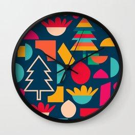 Funny Christmas games Wall Clock