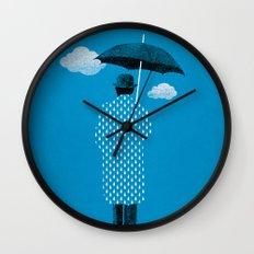 Rainman Wall Clock