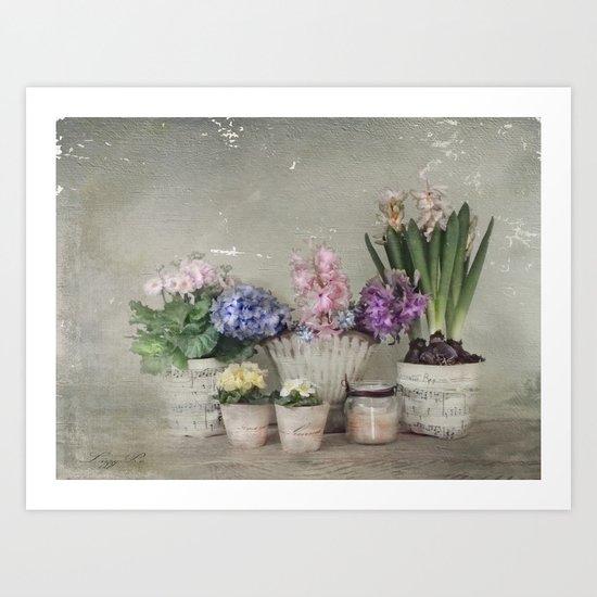 longing for springtime Art Print
