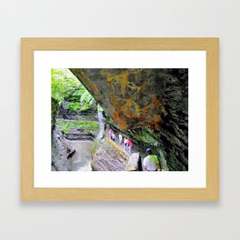 Ithaca is Gorges Framed Art Print