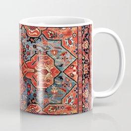 Kashan Poshti Central Persian Rug Print Coffee Mug