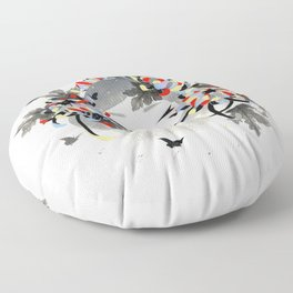 Chrysanthemum Mood Floor Pillow