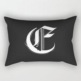 Letter E Rectangular Pillow