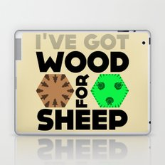 Wood for Sheep (Catan series) Laptop & iPad Skin