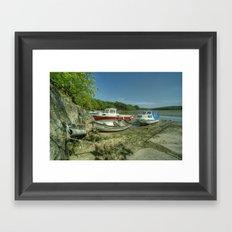 Fal Boats Framed Art Print
