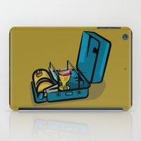 swedish iPad Cases featuring Retro Swedish Camp Stove by mailboxdisco