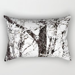 trees II Rectangular Pillow